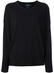 Polo Ralph Lauren Crew Neck Jumper Black