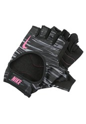 Nike Performance Gloves Anthracite Black Hyper Pink