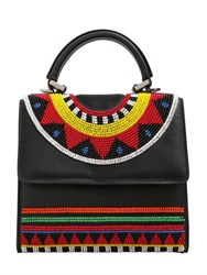 Les Petits Joueurs Mini Alex Beaded Leather Bag
