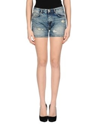 Mauro Grifoni Denim Shorts Blue
