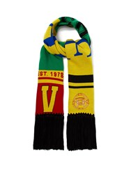 Versace 1978 Team Wool Scarf Yellow