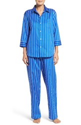 Lauren Ralph Lauren Women's Stripe Sateen Pajamas