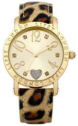 Lipsy Ladies Animal Print Strap Watch