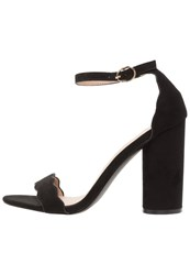 Miss Selfridge Copenhagen High Heeled Sandals Black