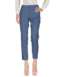 Max And Co. Casual Pants Dark Blue