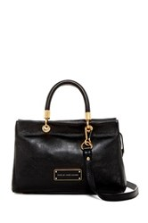 Marc By Marc Jacobs Too Hot To Handle Leather Satchel Black