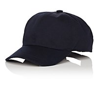 Barneys New York Cotton Twill Baseball Cap Navy