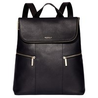 Modalu Marlowe Leather Backpack Black