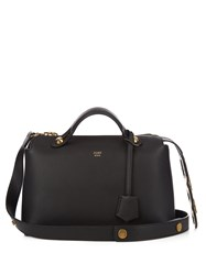 Fendi By The Way Small Leather Cross Body Bag Black Gold