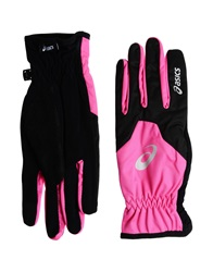 Asics Gloves Fuchsia