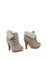 Guess Footwear Shoe Boots Women Dove Grey
