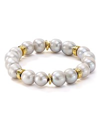 Bourbon And Boweties Stretch Bracelet Pearl
