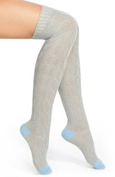 Women's Kensie Cable Knit Over The Knee Socks