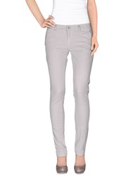 Blugirl Folies Trousers Casual Trousers Women Light Grey