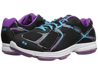 Ryka Devotion Black Bright Violet Detox Blue 1 Women's Shoes
