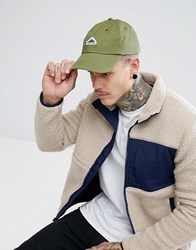 Penfield Roxbury Twill Baseball Cap Logo In Olive Olive Green