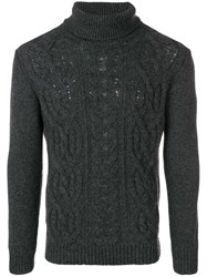 Tagliatore Turtleneck Sweater Grey