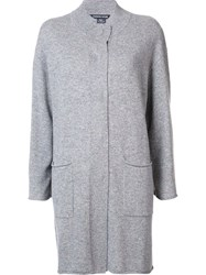 Thomas Wylde Cashmere 'Passion Pit' Cardigan Grey
