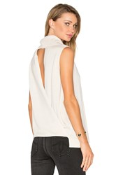 Bcbgmaxazria Sleeveless Sweater Beige