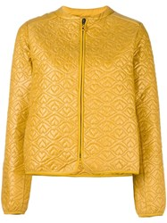 See By Chloe Big Bisou Lightweight Puffer Jacket Yellow Orange