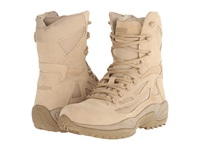 Reebok Work Rapid Response 8 Desert Tan Men's Work Boots Taupe
