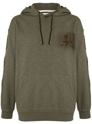 Kent And Curwen Embroidered Patch Hoodie 60