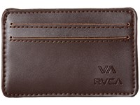 Rvca Card Wallet Brown Wallet Handbags