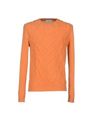 Della Ciana Knitwear Jumpers Men Orange