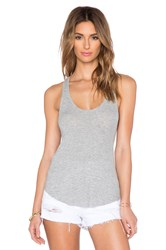 Feel The Piece Lilith Racerback Tank Gray