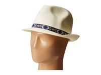 Steve Madden Friendship Band Fedora Ivory Fedora Hats White