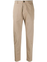 Department 5 Slim Fit Pleated Detail Chino Trousers 60