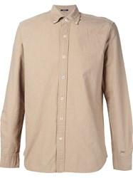 Denham Jeans Denham Button Down Shirt Nude And Neutrals