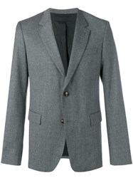 Ami Alexandre Mattiussi Lined Two Buttons Jacket Grey