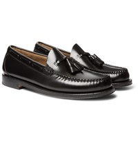 G.H. Bass And Co. Weejuns Larkin Leather Tasselled Loafers Black