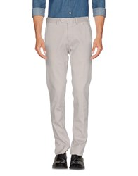 Santaniello And B. Casual Pants Grey