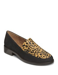 Aerosoles Wishlist Leather Loafers Cheetah