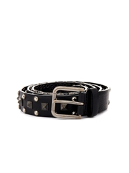 Dolce And Gabbana Studded Leather Belt