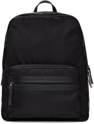 Maison Martin Margiela Black Nylon Backpack