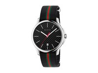 Gucci G Timeless 40Mm Stainless Steel Black Nato Strap Watches