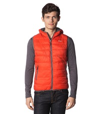 Jeep Waistcoat Red Clay Dark Grey Orange