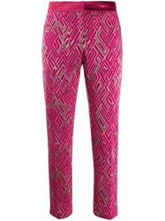 Semicouture All Over Print Trousers 60