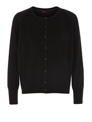 Kaliko Black Knitted Cardigan