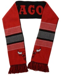 Forever Collectibles Chicago Bulls Reversible Split Logo Scarf