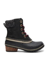 Sorel Slimpack Ii Lace Boot Black
