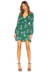 Cupcakes And Cashmere Mystique Wrap Dress Green