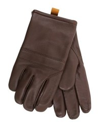 Ugg Cordovan Shearling And Leather Gloves