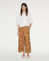 Acne Studios Texel Embroidered Paisley Trousers