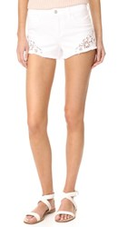 Joe's Jeans Cutoff Shorts With Embroidery Lemley