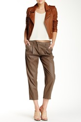 Dwp Drew Crop Pant Brown