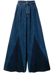 Caban Romantic Extra Wide Leg Jeans Blue
